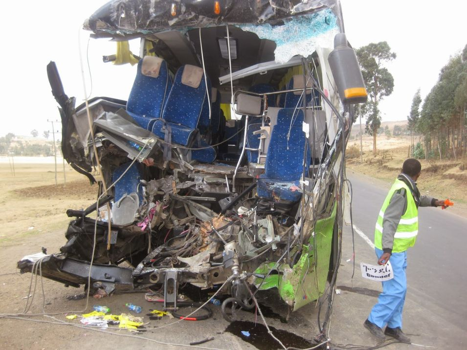 Selam Bus Accident with 25 Gondar University Students on board - no survivors